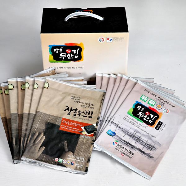 산지발송 장흥 무산김 선물세트 4호