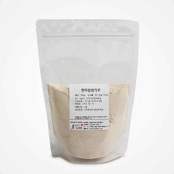 국산 현미 찹쌀가루 300g