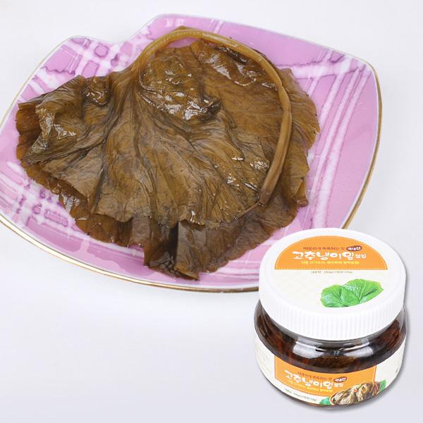 매콤하게 톡톡튀는 강원도 고추냉이잎 절임 300g