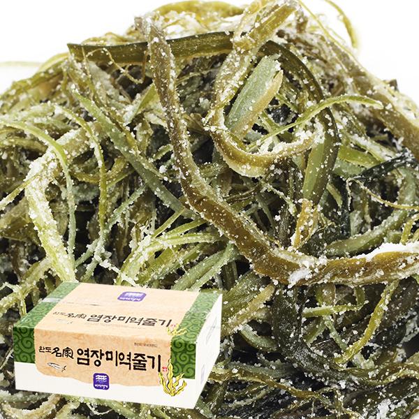 완도산 염장미역줄기 1.5kg