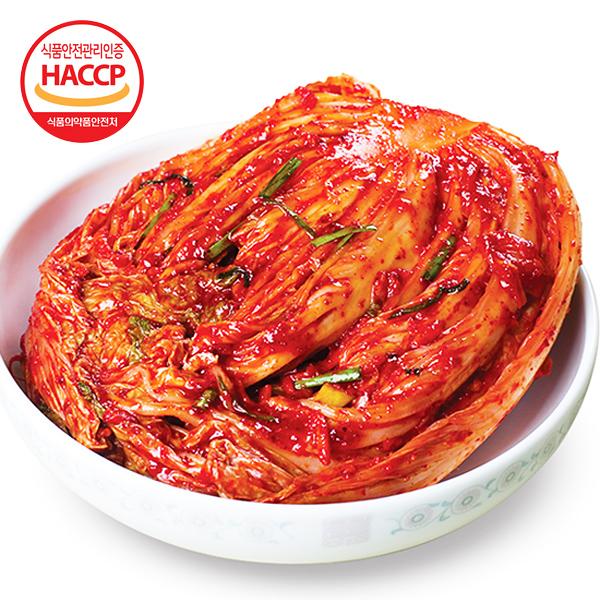 [김치다운 김치] 국내산 자연재료로 만든 포기김치 3kg
