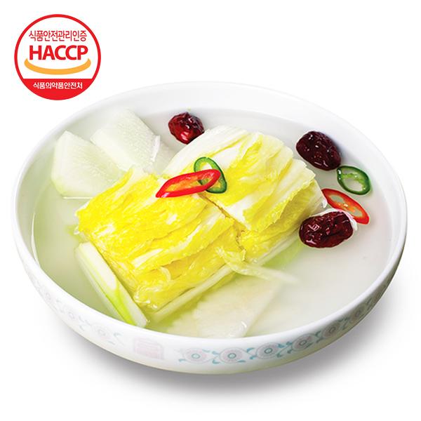 [김치다운 김치] 국내산 자연재료로 만든 백김치 3kg