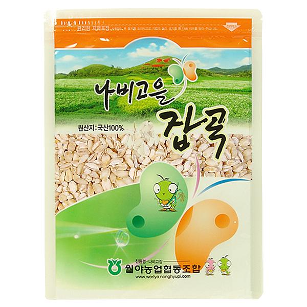 [함평월야농협] 나비고을 17년산 찰보리쌀 1kg*5