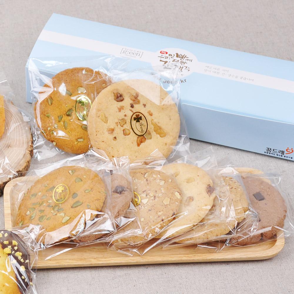 사회적 기업에서 만든 수제 쿠키 세트 (50g 8개입)